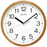 セイコー(SEIKO) 天然木枠シンプル電波掛時計 KX249B