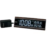 セイコー(SEIKO) チェンジカラー電波クロック DL306B ブラウン│時計 目覚まし時計