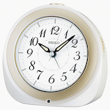 セイコー(SEIKO) 自動点灯電波目覚し KR336W ホワイト│時計 目覚まし時計