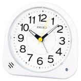 セイコー(SEIKO) 夜でも見える目ざまし時計 KR510W ホワイト│時計 目覚まし時計
