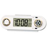 セイコー(SEIKO) デジタルRAIDEN NR537W ホワイト│時計 目覚まし時計