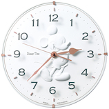 セイコー(SEIKO) ミッキーマウス シルエット掛時計 FW589W│時計 壁掛け時計