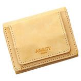 アジリティ(AGILITY) リオン シビラ 16248909 ベージュ│財布・名刺入れ 二つ折り財布
