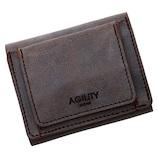 AGILITY リオン 16248911 チョコ│財布・名刺入れ 二つ折り財布