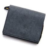 リベロワールド アジリティ ビゾン(AGILITY Bisogn) モワティエ 16388912 黒│財布・名刺入れ 二つ折り財布