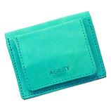 アジリティ(AGILITY) リオン シビラ 16249042 ターコイズ│財布・名刺入れ 二つ折り財布