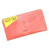 アジリティ(AGILITY) カードフォルダー モストロ 05309084 ピンク│財布・名刺入れ 二つ折り財布