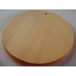 ヤマニ 天然木曽檜 カッティングボード丸 250径×t14
