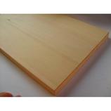 ヤマニ 天然木曽檜 カッティングボード角穴なし 380×250×t18
