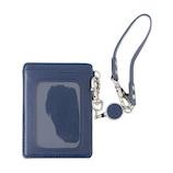 スリップオン リール付きパスケース WDM‐2502 ブルー