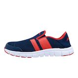 sundance(サンダンス) 安全靴 26.5cm SL−250 ネイビー&レッド│安全用品・保安用品 作業服・安全靴
