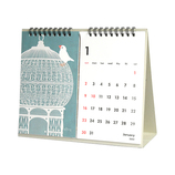 【2022年版・卓上】オーブ22 ポストカード卓上カレンダー TI-1000│カレンダー 卓上カレンダー