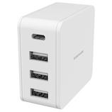 多摩電子工業 コンセントチャージャー4.8A CA 4ポート TA107CUW ホワイト│携帯・スマホアクセサリー モバイルバッテリー・携帯充電器