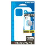 【iPhone12/iPhone12Pro】 多摩電子工業 ハイブリッドスリムケース マグセーフ(MagSafe)対応 TPS13HW ホワイト│携帯・スマホケース iPhoneケース