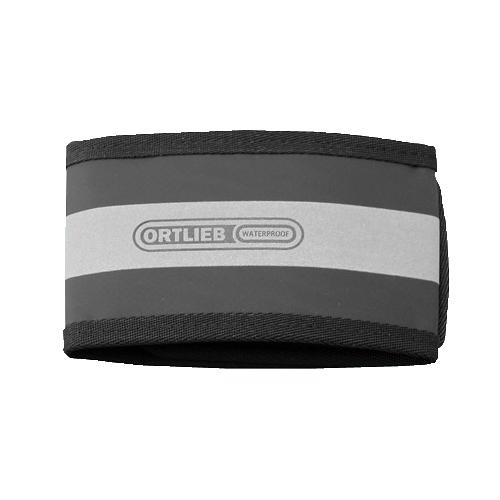 <東急ハンズ> 幅広サイズで裾がまとめやすく、リフレクティブテープで夜間も安全です。 オルトリーブ アンクルバンド ブラック 1本入画像