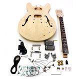 HOSCO セミアコギターキット ESタイプ ER-KIT-ES