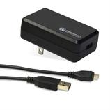 日本トラストテクノロジー 超急速USB充電器 QUICKC20BK ブラック