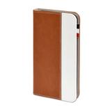 【iPhone7Plus】 日本トラストテクノロジー BOOKIP7P ブラウン