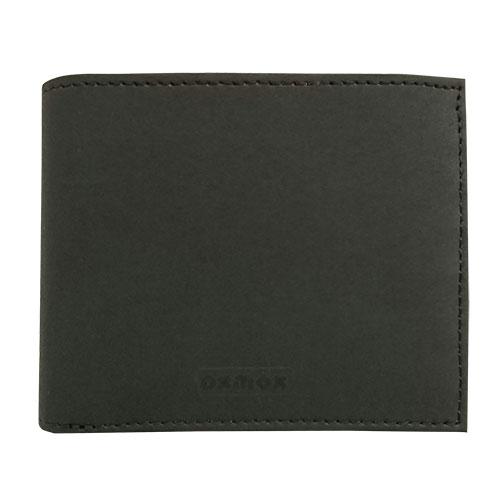OXMOX 二ツ折り財布 ブラック