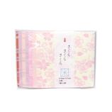 <東急ハンズ> 三つの桜柄を桜色の和紙と組合わせました。 尚雅堂 おりがみ さくら 6.5cm 29253画像