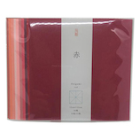 尚雅堂 大人のためのおりがみ 赤 15cm角 29272│折り紙・和紙工芸 折り紙