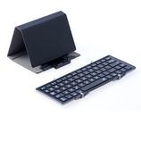 サップ 3つ折り Bluetooth キーボード コンパクトサイズ ブラック 3E−HB066−BK