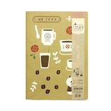 喫茶ミズタマ A5ノート 35−314 コーヒー