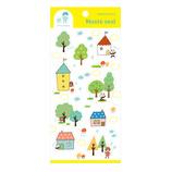 パピアプラッツ mizutama マステシール 35−628 木とお家