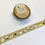 喫茶ミズタマ マスキング 35−665 パンダマスター