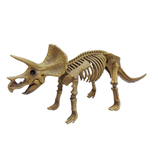 <東急ハンズ> 関節が動く!遊べるアクションフィギュアです。 ポーズスケルトン 恐竜 トリケラトプス画像