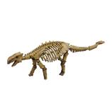 <東急ハンズ> 関節が動く!遊べるアクションフィギュアです。 ポーズスケルトン 恐竜 アンキロサウルス画像