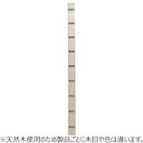 桐 エイジング支柱 ホワイト 900×45×23│合板・べニア板 棚板