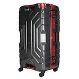 エスケープ グリップマスター B5225T-74 89L ヘアラインブラック/レッド 【店頭のみ商品】│スーツケース・旅行かばん スーツケース