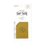 カンミ堂 タップテープ TP‐1003 マスタード│ガムテープ・粘着テープ 両面テープ
