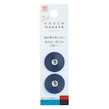 カンミ堂 フセンマーカー リフィル FM-9301 STUDY ブルー 2個入│ノート・メモ 付箋紙