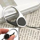 HandLinkerEXTRA カラビナリング携帯ストラップ ブラック