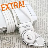 HandLinkerEXTRA 携帯ネックストラップ ホワイト