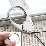 HandLinkerEXTRA カラビナリング携帯ストラップ ホワイト