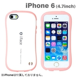 【iPhone6】4.7インチ iFace First Class パステルケース ホワイト×ピンク