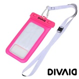 Hamee DIVAID 防水ケース IP68 ピンク│携帯・スマホケース スマホケース