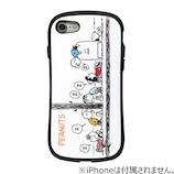 【iPhone8/7】 スヌーピーiFaceケース バス停
