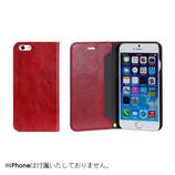 【iPhone7】 CERTA(ケルタ)ダイアリーケース レッド