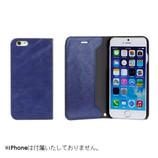 【iPhone7】 CERTA(ケルタ)ダイアリーケース ネイビー