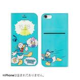 【iPhone7】 ディズニーキャラクター/フリップ窓付きダイアリーケース ドナルドダック