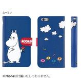 【iPhone7】 ムーミン 3D-POPダイアリーケース ムーミン