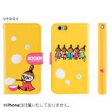 【iPhone7】 ムーミン 3D-POPダイアリーケース リトルミイ