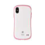 【iPhoneXS/X】iFace ファーストクラス パステルケース ホワイト/ピンク