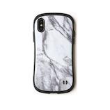 【iPhoneXS/X】iFace ファーストクラス マーブルケース ホワイト