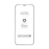 【iPhone12/12Pro】 iFace ラウンドエッジ強化ガラス 画面保護シート ブラック│携帯・スマホアクセサリー 液晶保護フィルム