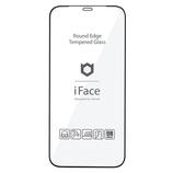 【iPhone12ProMax】 iFace ラウンドエッジ強化ガラス 画面保護シート ブラック│携帯・スマホアクセサリー 液晶保護フィルム